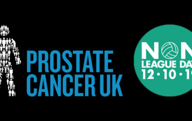 Show Your Support for Prostate Cancer UK On Non-League Day