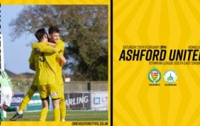 Report: Ashford United 2-3 Chichester City