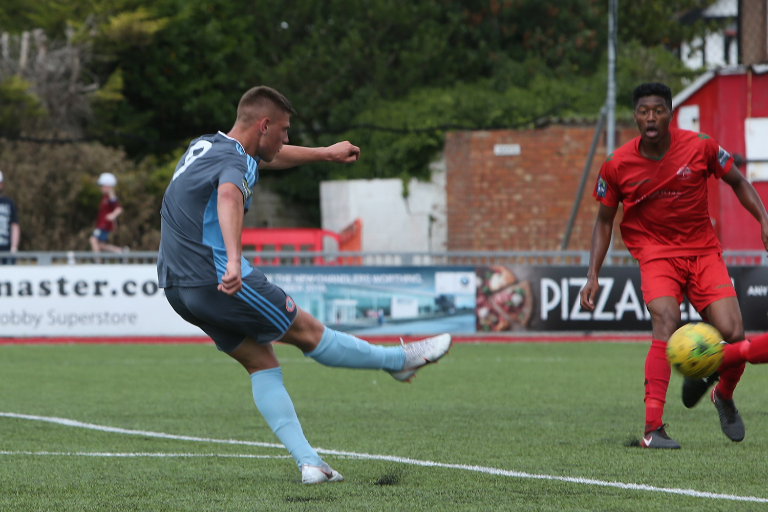 Pre-Season goal feast as reds share eight with Wimbourne
