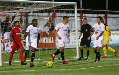 Confidence flowing as Worthing make perfect start