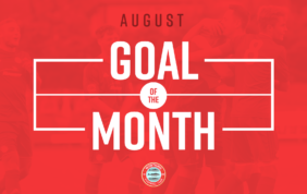 Goal Of The Month – August