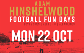 Adam Hinshelwood Football Funday – 22nd Oct | BOOK NOW