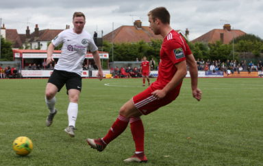 Worthing drawn away to local rivals in FA Trophy