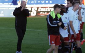 Hinshelwood reflects on a 'missed opportunity' as Worthing exit FA Cup
