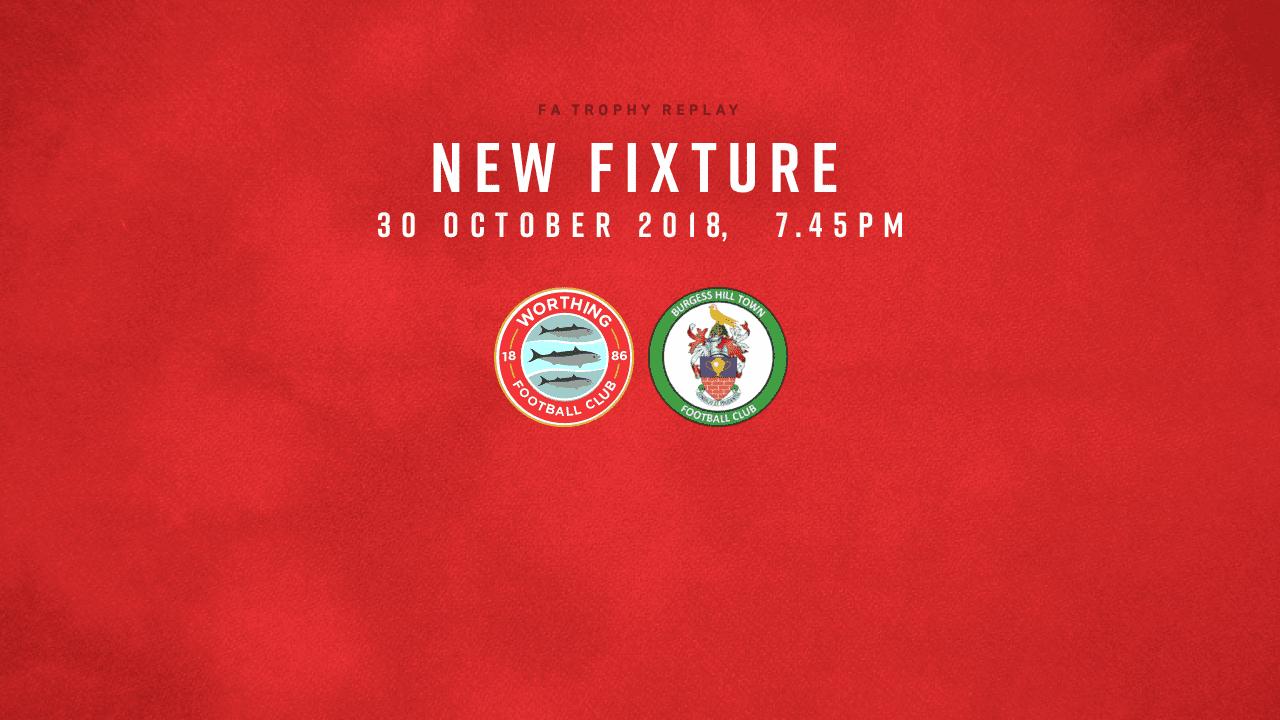 Fixture Update: FA Trophy Replay!