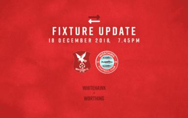 Fixture Update: Whitehawk [A] – League
