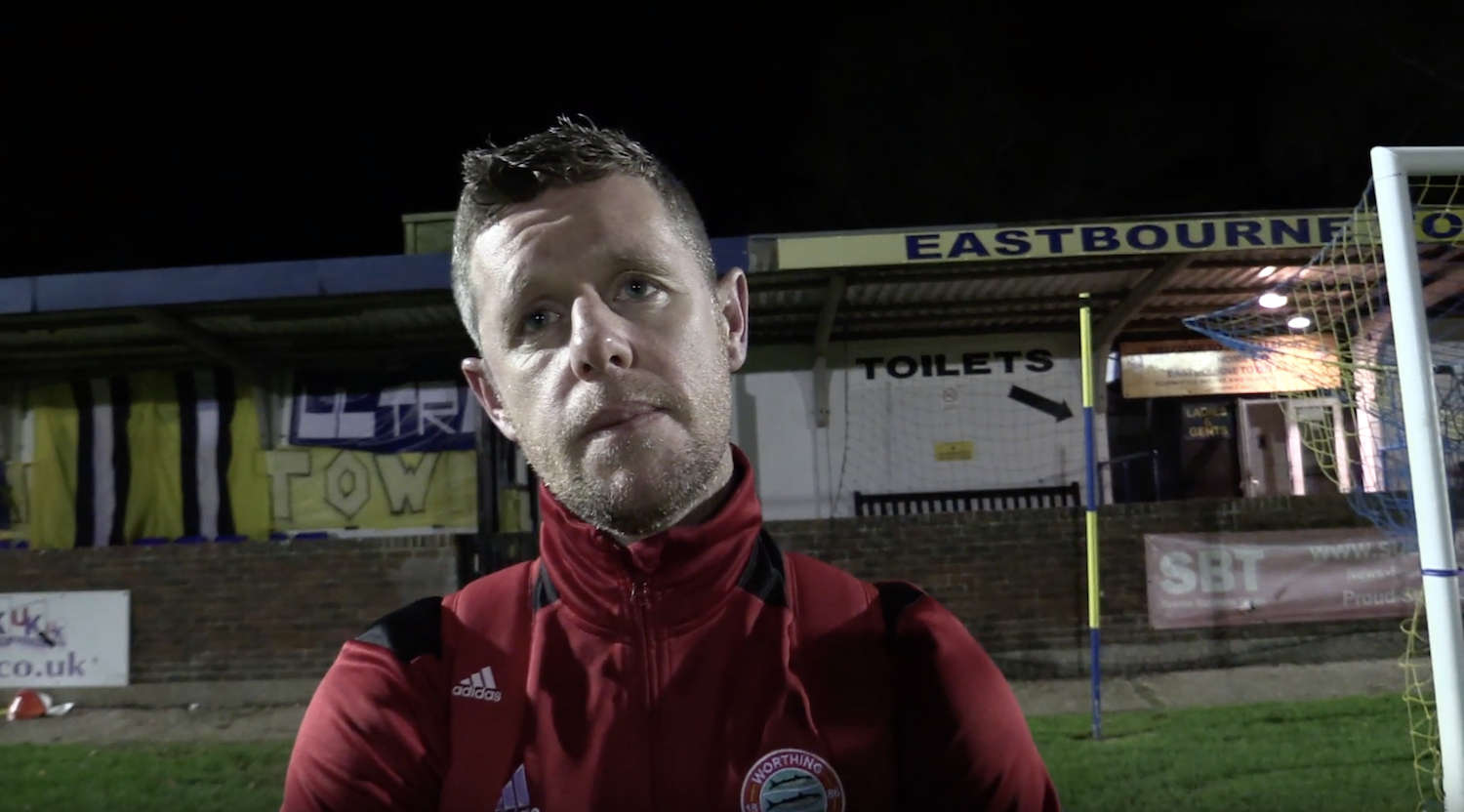 Post Match Interview: Eastbourne Town [A] – Cup