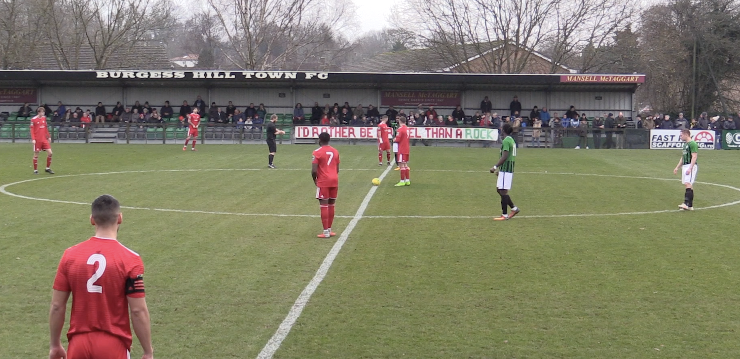 HIGHLIGHTS: Burgess Hill 2-1 Worthing [A] – League