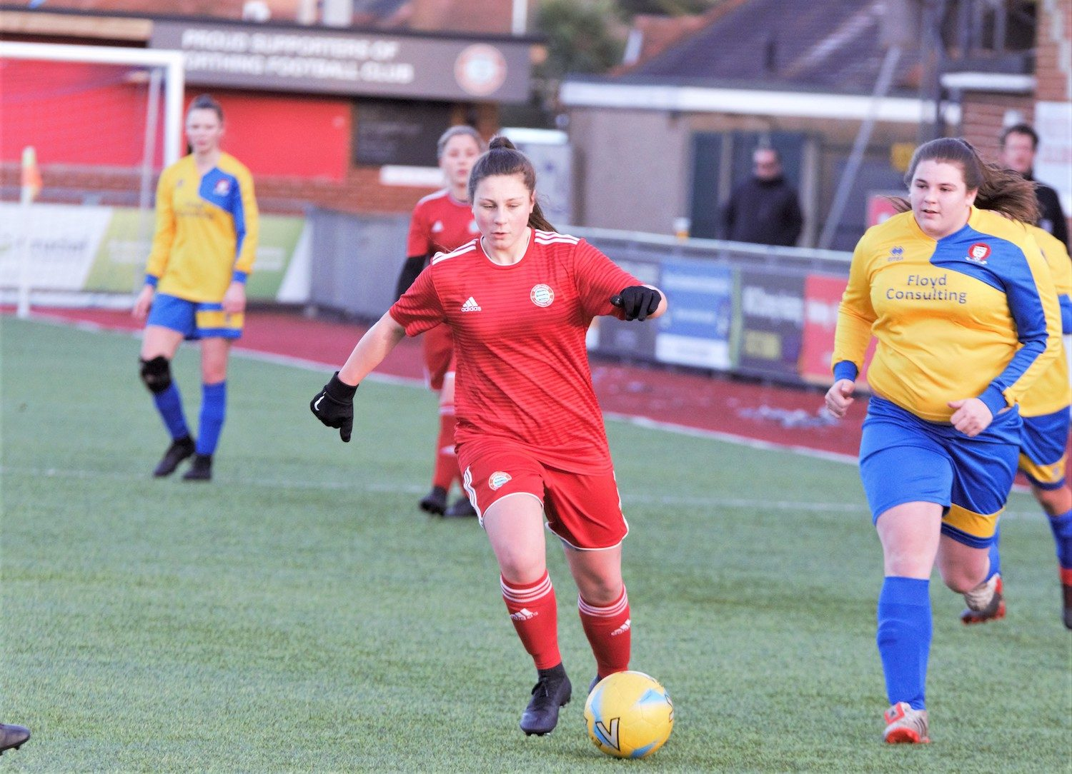 HIGHLIGHTS: Ladies 2-7 Hassocks [H] – CUP
