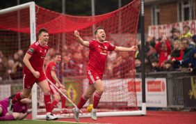 Pearce To The Four As Reds Hammer Hawks