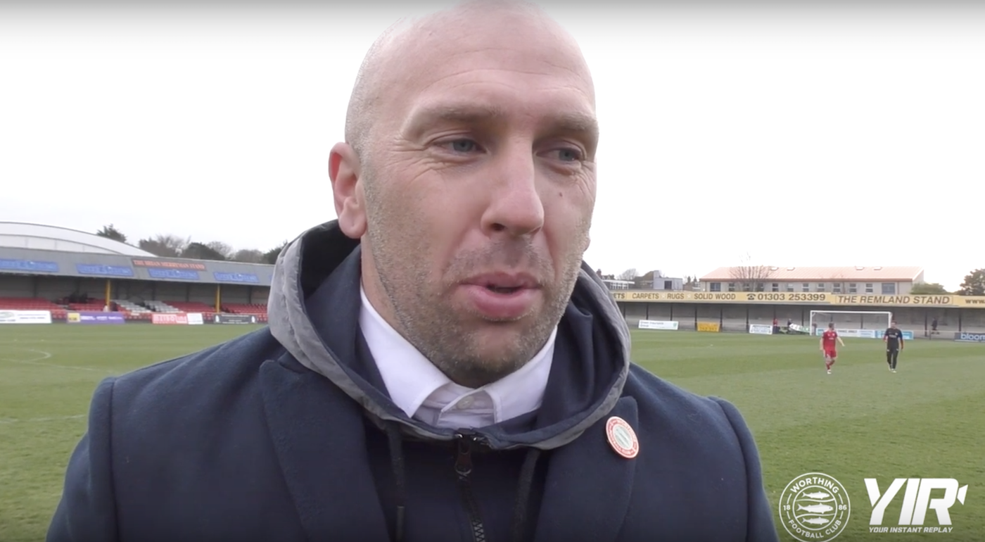 Post Match Interview: Folkestone [A] – League
