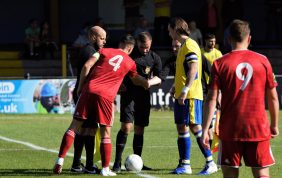 Reds clash with Saints in cup replay for a trip to Weymouth